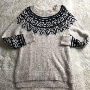 Knox Rose Fuzzy Sweater Size Medium